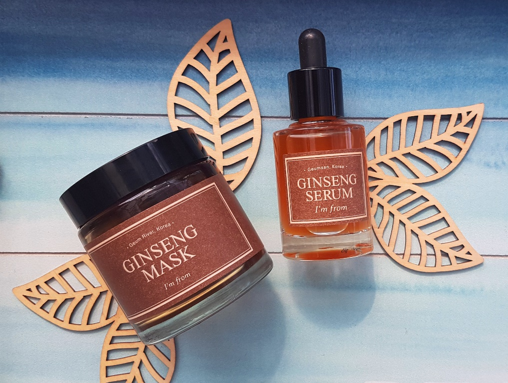 Skincare containing Ginseng