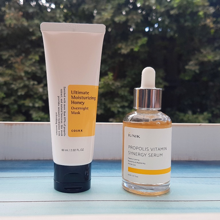 Skincare containing Propolis