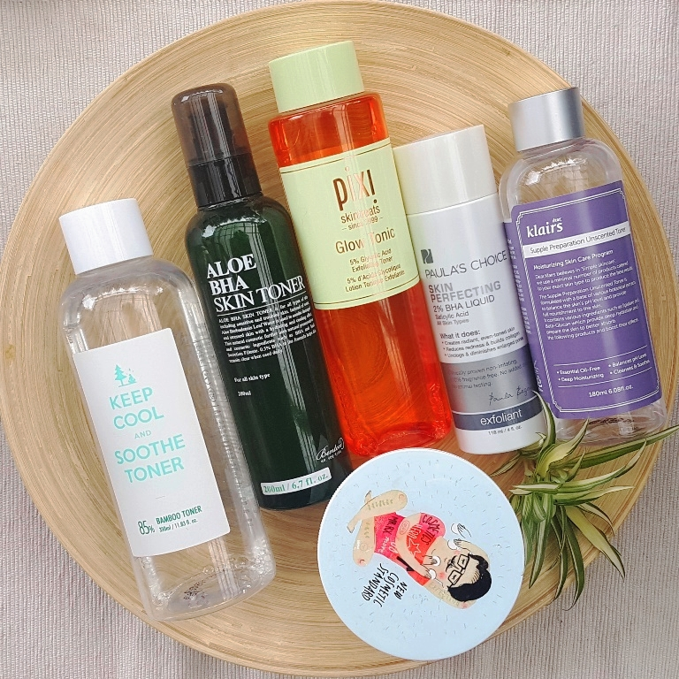 Recommended Toners