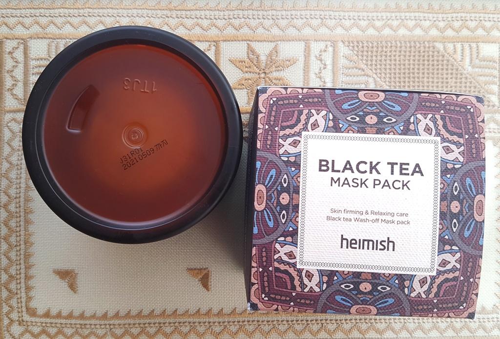 Heimish Black Tea Mask Pack Expiry