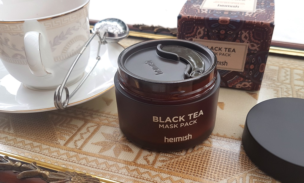 Heimish Black Tea Mask Pack Packaging