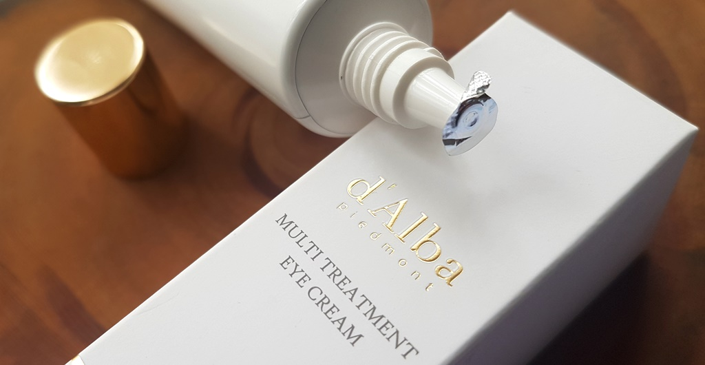d'Alba White Truffle Multi Treatment Eye Cream Packaging