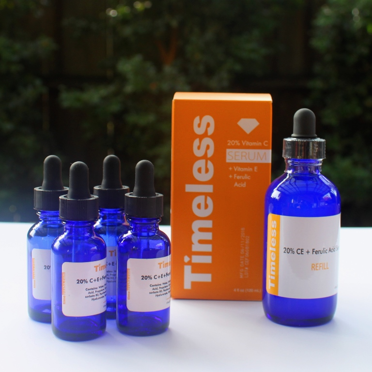 Timeless Vitamin Serum Regular and Refill Sizes