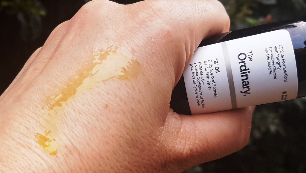 The Ordinary 'B' Oil Texture