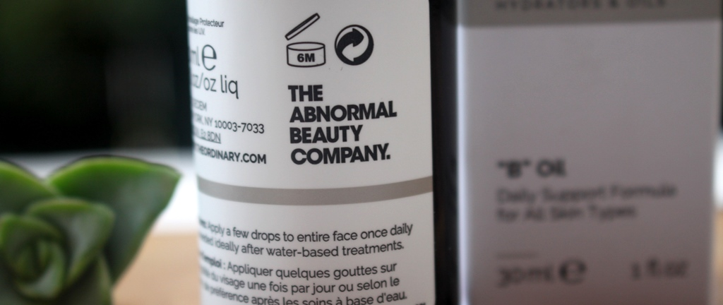 The Ordinary 'B' Oil Expiry