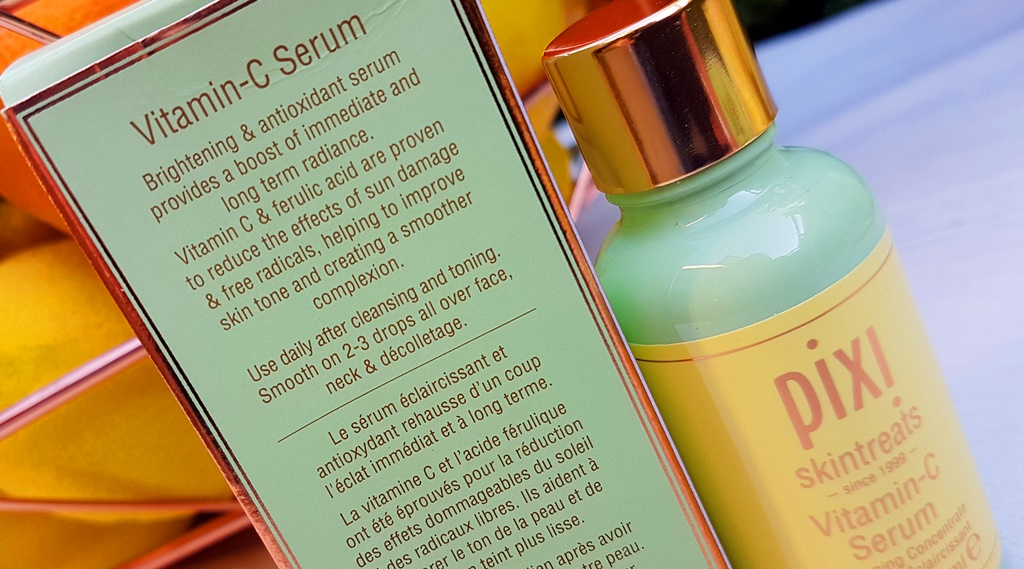 Pixi Vitamin C Serum Directions