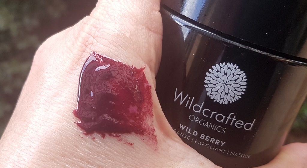 Wildcrafted Organics Wild Berry Masque Texture