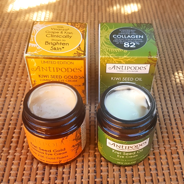 Antipodes Kiwi Seed Oil Eye Cream Texture