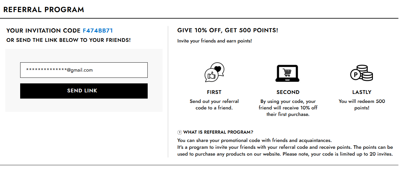Wishtrend Referrals