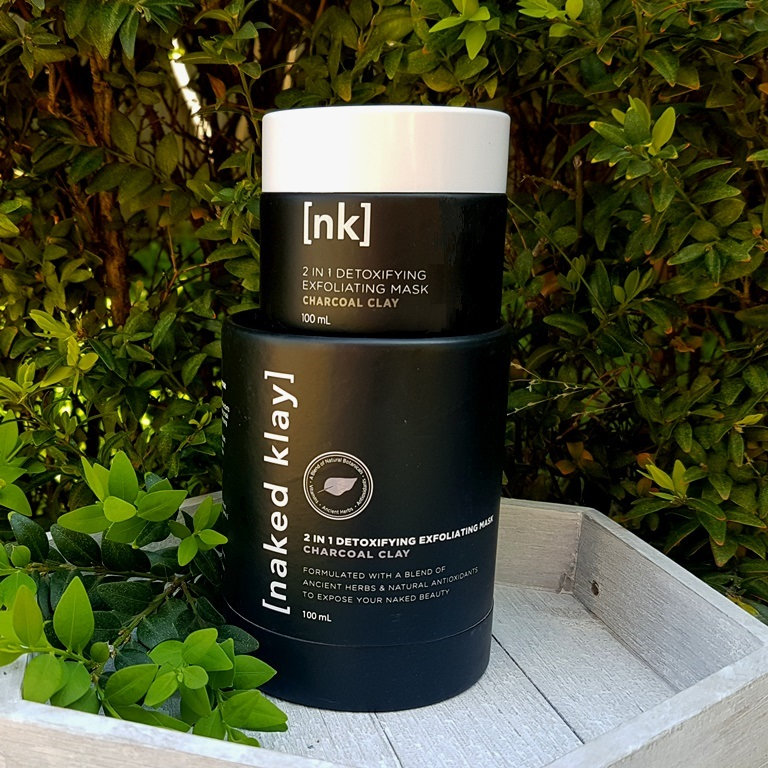 Naked Klay 2 In 1 Detoxifying Exfoliating Mask Presentation