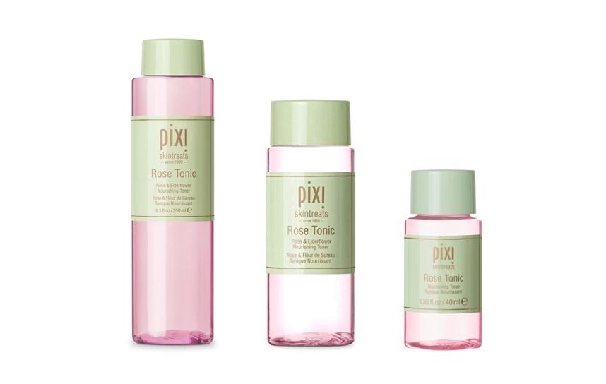 Pixi Rose Tonic Size Range