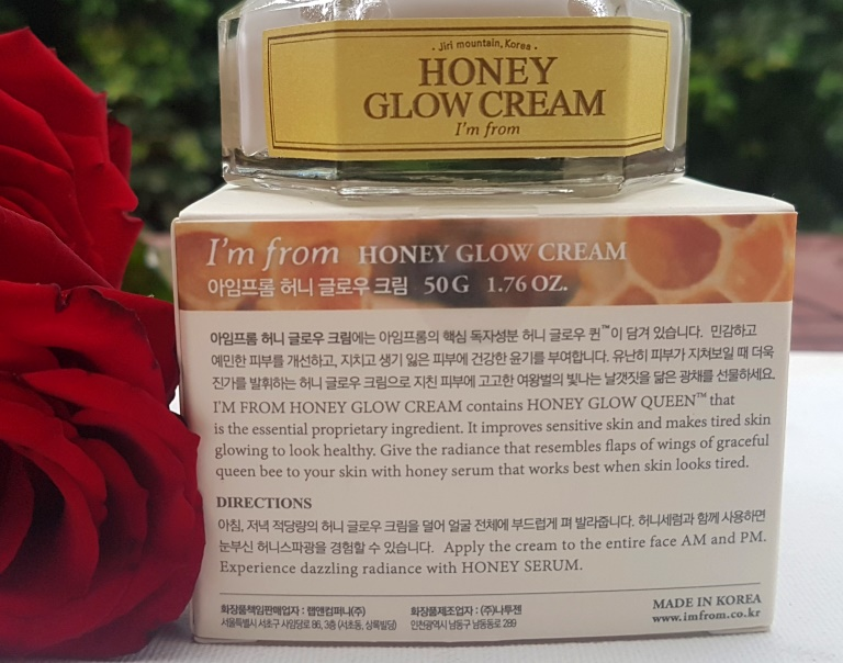 I'm From Honey Glow Cream Directions