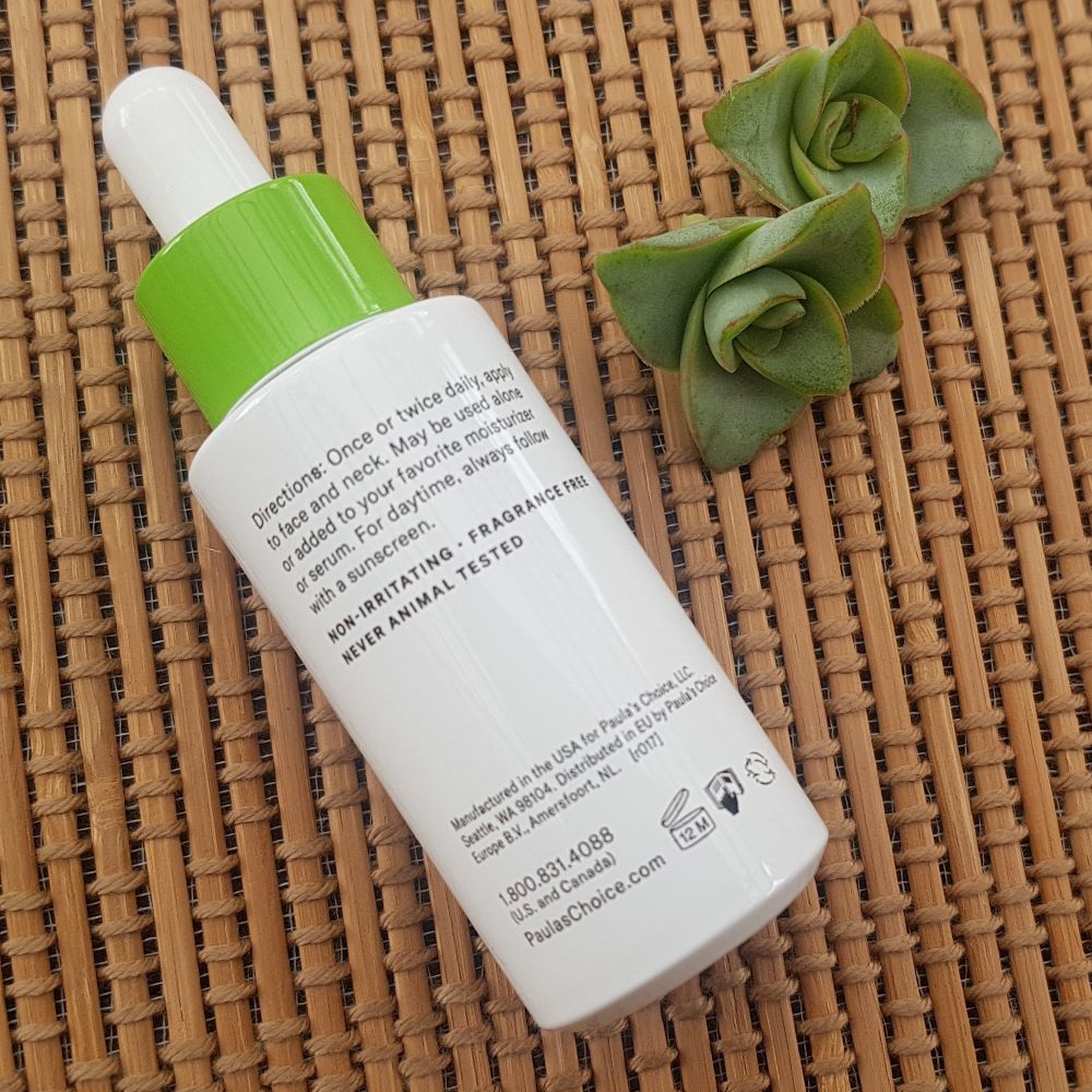 Paula's Choice Niacinamide Booster Application