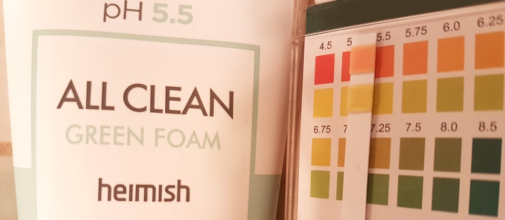 Heimish All Clean Green Foam pH
