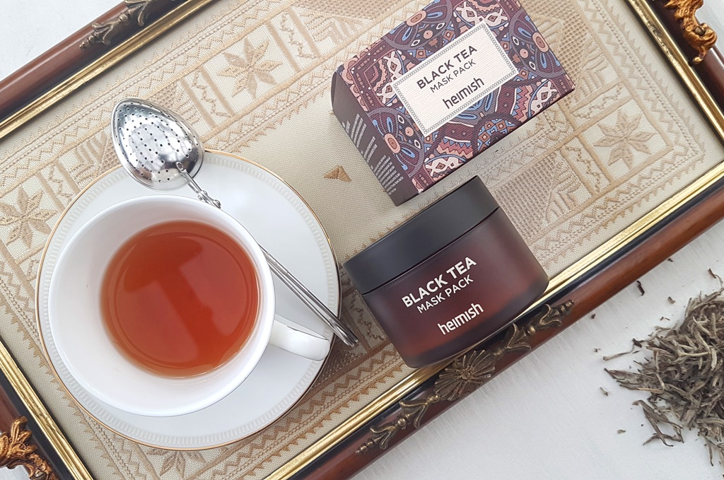 Heimish Black Tea Mask Appearance