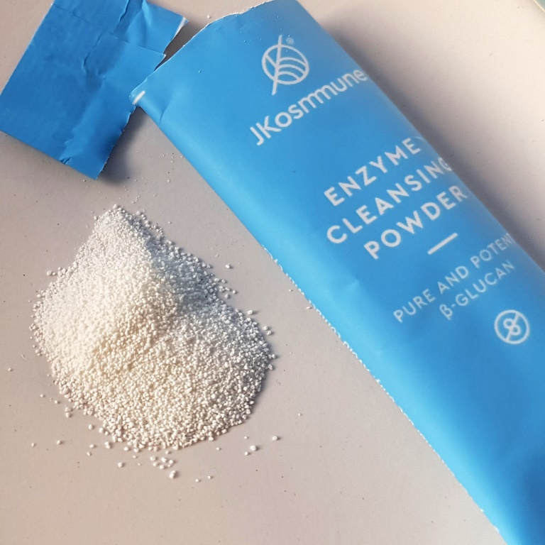 JKosmmune Enzyme Cleansing Powder Texture