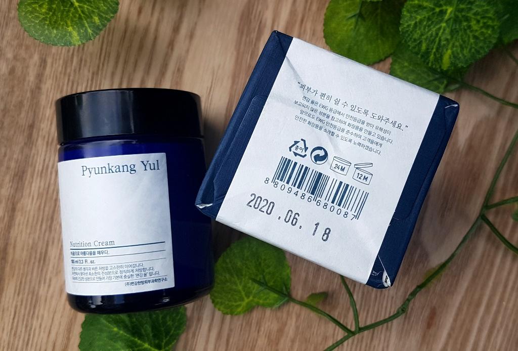 Pyunkang Yul Nutrition Cream Expiry