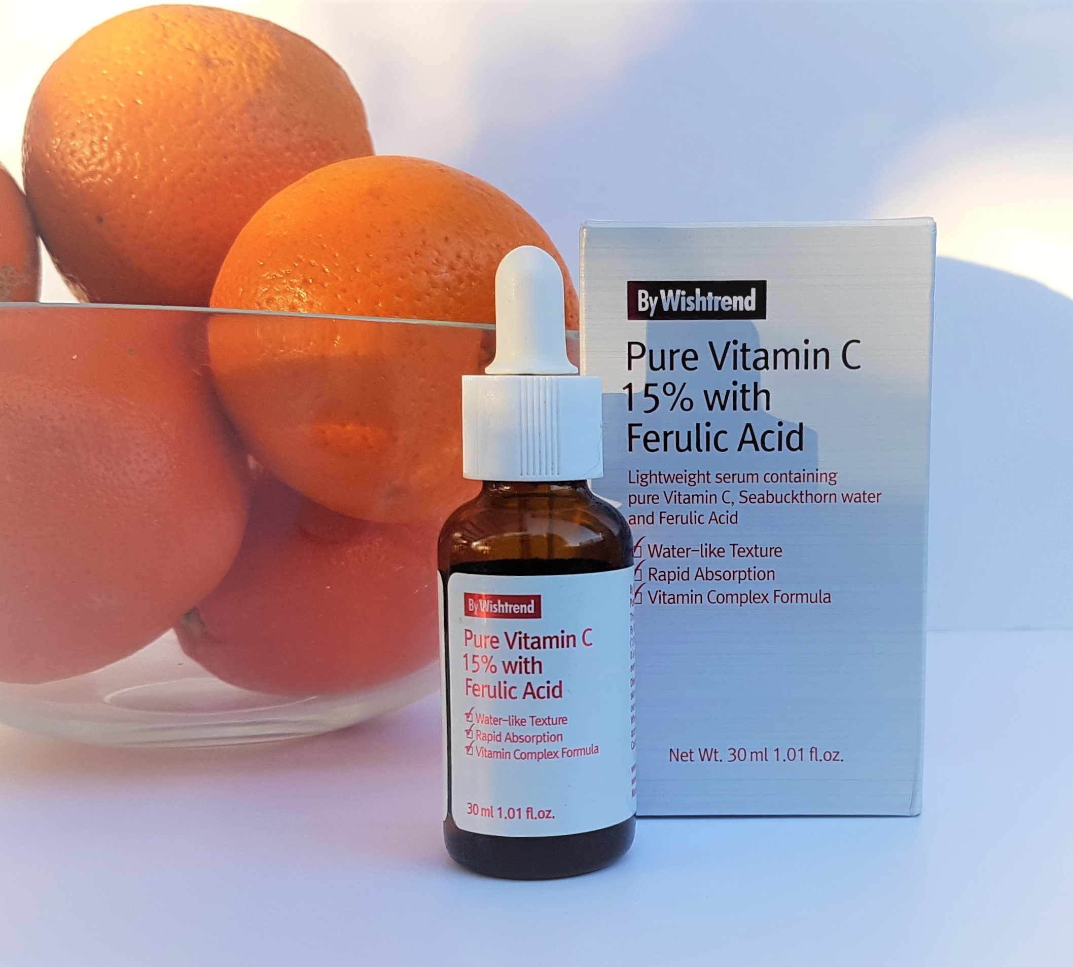 ByWishtrend Pure Vitamin C 15% with Ferulic Acid Serum
