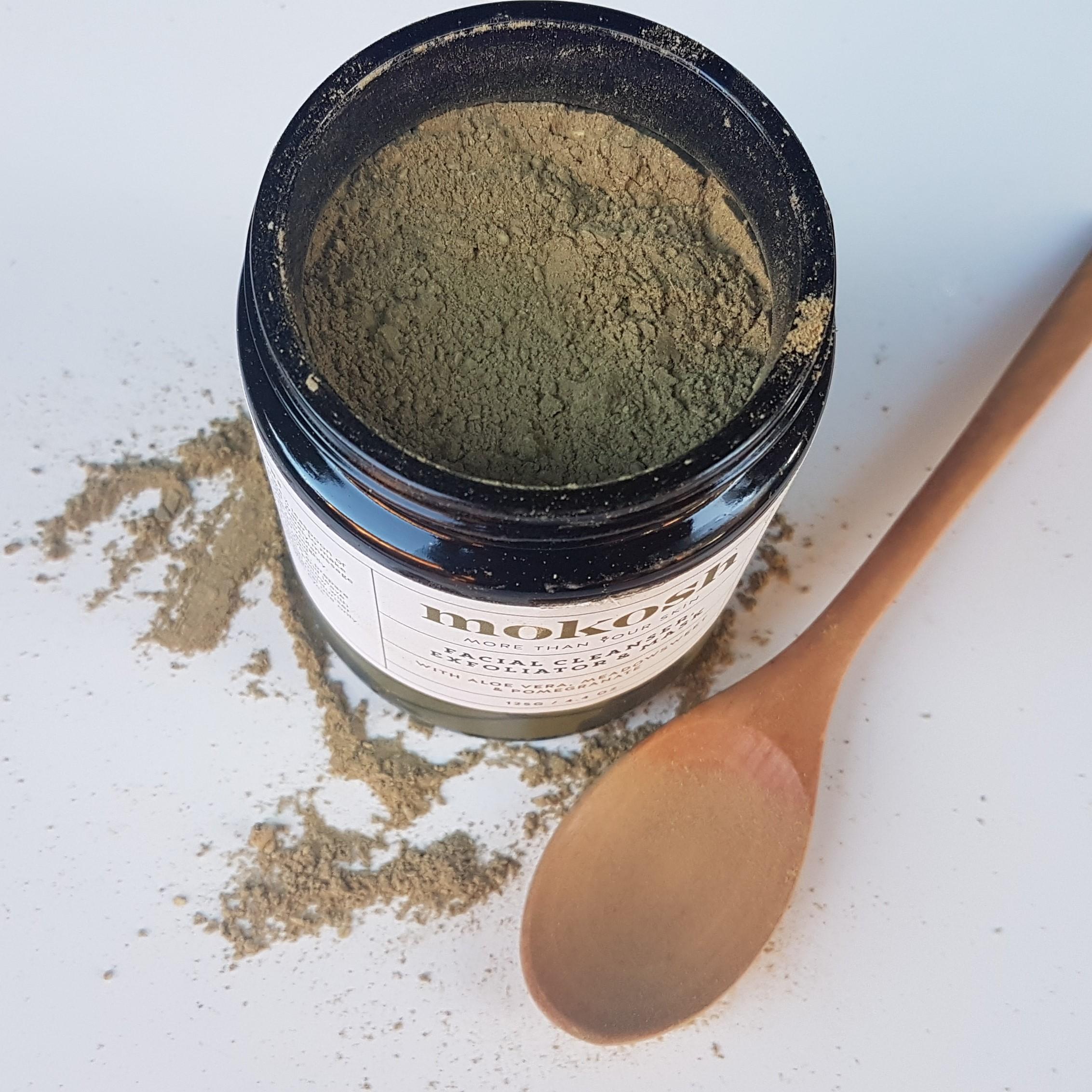 Mokosh Facial Cleanser, Exfoliator and Mask Texture
