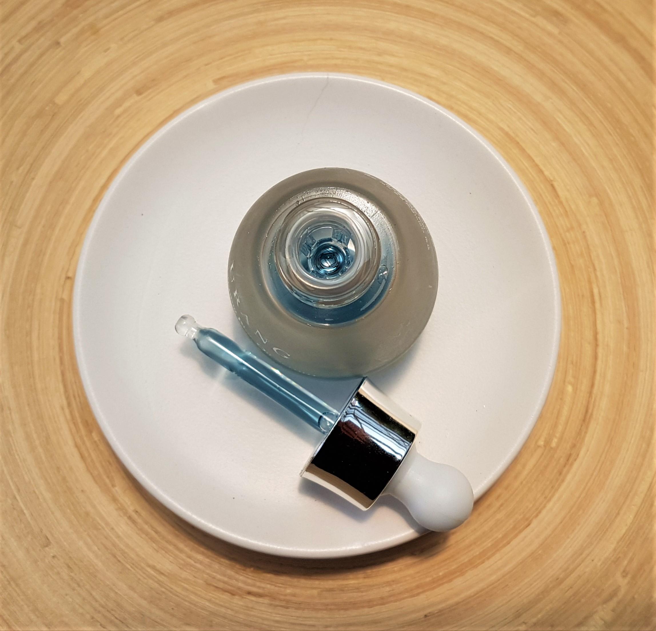 Urang Brightening Blue Oil Serum Packaging