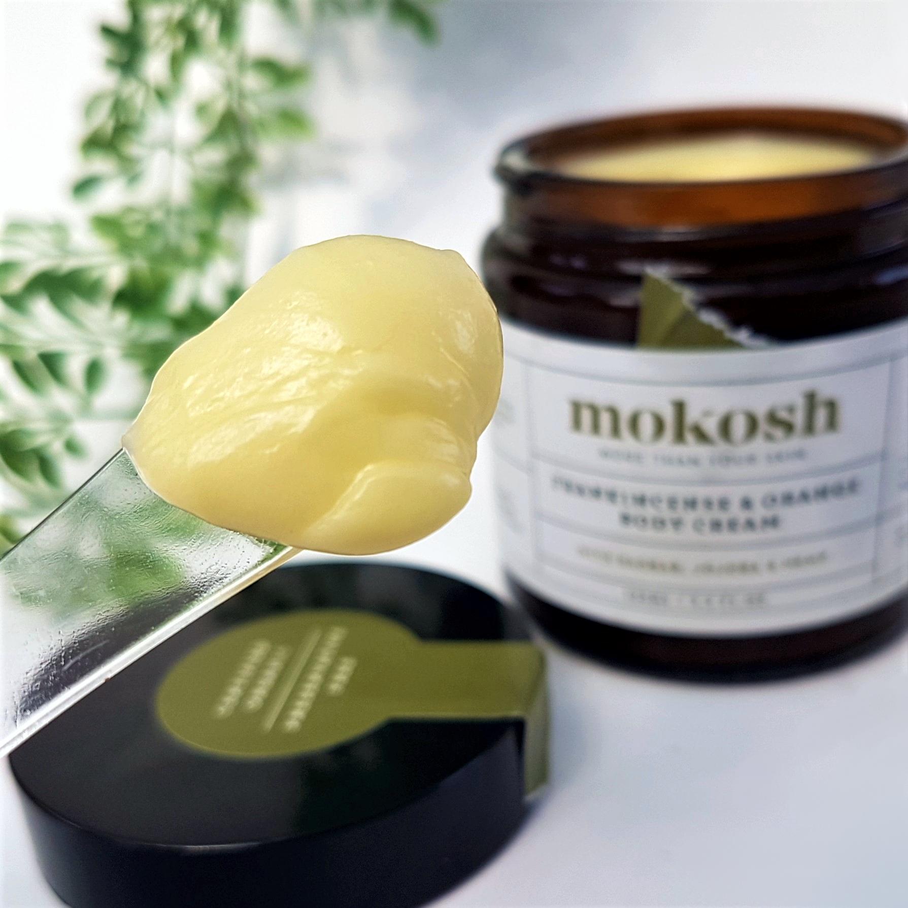 Frankincense & Orange Body Cream Texture