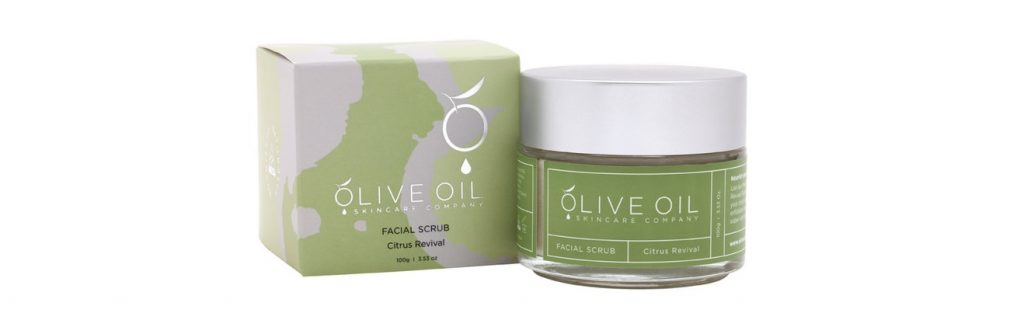 Olive Oil Skincare Company Facial Scrub